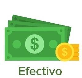 Pagar en Efectivo